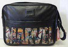 Marvel Comics Super Heros Black Crossbody Messenger Shoulder Bag Handbag Tote