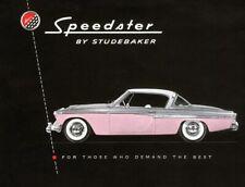 AUTOMOBILISMO - Studebaker President Speedster 1955 (eng) Brochure - DVD