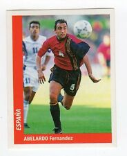 figurina DS CALCIATORI WORLD CUP FRANCE 98 NUMERO 153 SPAGNA ABELARDO