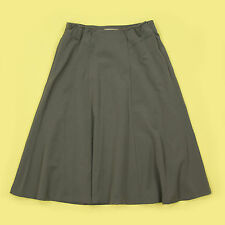 NEW GREY FLIPPY/SWISHY STYLE STRETCHY WAIST OFFICE, EVENING SKIRT SIZE 12?