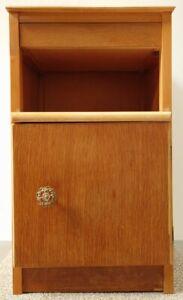 Vintage Lebus Bedside Cabinet with Drawer & Cupboard