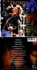 "DALTRY ROGER *NEW* ""CELEBRATION OF..."" 1998 US  HOUSE OF BLUES LIVE CD"