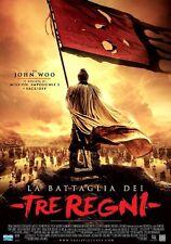 POSTER RED CLIFF LA BATTAGLIA DEI TRE REGNI JOHN WOO 2