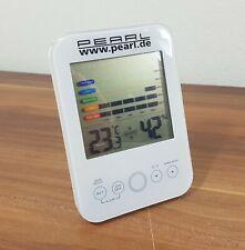 Digital-Hygrometer/Thermometer mit Schimmel-Alarm und LCD-Display Pearl