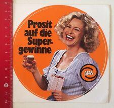 ADESIVI/Sticker: TOTO LOTTO-prosit sui profitti SUPER (080316196)