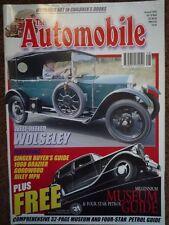 AUTOMOBILE AUG 2000 MPH Riley 18hp Brasier Wolseley 10 Silver Ghost Dawn VCC GB