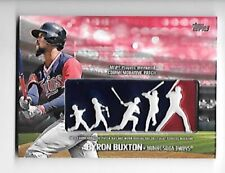 BYRON BUXTON 2018 Topps Players Weekend Patches RED #PWPBB SERIAL #5/25 TWINS