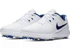Nike Vapor Pro Golf Men's Shoes Sz 9 White Navy Blue Aq2197-102 New