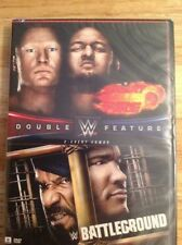 WWE: Great Balls of Fire 2017/WWE: Battleground 2017 (DVD, 2017, 2-Disc Set)NEW
