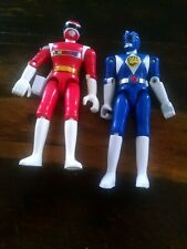 Lot of 2 Vintage Mighty Morphin' Power Rangers 1990s Bandai