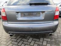 S4 Stoßstange hinten Audi A4 S4 B6 8E Avant DELPHINGRAU LX7Z Heckspoiler PDC