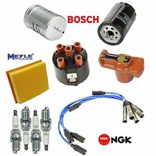 Tune Up Kit Filters Rotor Spark Plugs Wire for Volkswagen Jetta 2.0L 1993-1999