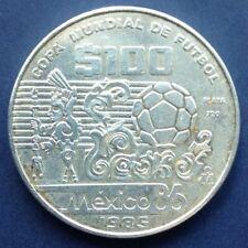 SILVER COIN MEXICO86 - COPA MUNDIAL DE FUTBOL