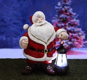 Santa Claus Solar Home & Garden Christmas Statue Decoration