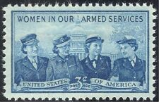 USA 1952 Military/Armed Services/Women/Uniforms/Army/Navy 1v (n43326)