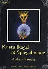 KRISTALLKUGEL & SPIEGELMAGIE - Andreas Hartwig BUCH - NEU