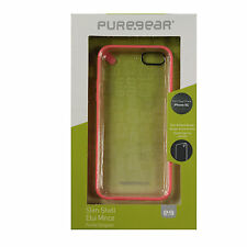 OEM PureGear Slim Shell Case For Iphone 5c Authentic Cover Pink / Clear