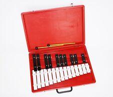 Glockenspiel 25 Töne im roten Holzkoffer inkl. Schlegel
