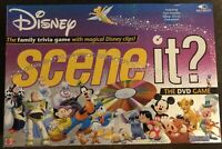 Disney Scene It? DVD Family Trivia Board Game 1st Edition Pixar/Magic - Complete