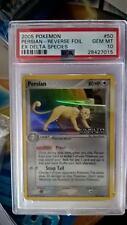Pokemon Reverse Foil Persian. Ex Delta Species 50/111. PSA 10. Gem Mint Pop 1!!!