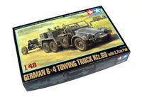 Tamiya Military Model 1/48 German 6 x 4 Towing Truck Kfz.69 with 3.7cm Pak 32580