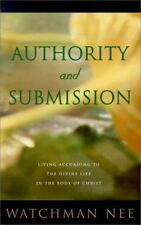 Authority and Submission by Watchman Nee