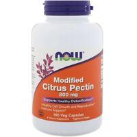 Now Foods - Modified Citrus Pectin, 800 mg, 180 Veg Capsules