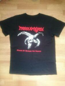 Proclamation Shirt M Archgoat Gorgoroth Darkthrone Marduk Destroyer 666 Impiety