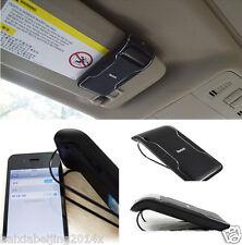 Handsfree Bluetooth Wireless Speakerphone Car Kit Sun Visor for iPhone Samsung
