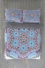 Urban Outfitters Magical Thinking Blue Kali Medallion Full/Queen Duvet Cover NIP