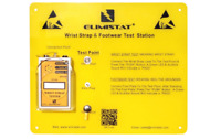 ESD Wrist Strap Test Station. Wrist Strap Tester & Wall Plate With Free Cal Cert