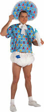 Morris Costumes Adult Humor Men's Comical Baby Kit Blue White One size. FM51654