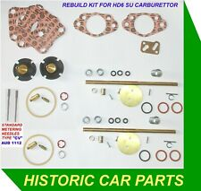REBUILD KIT & CV Needles for 2 SU HD6 Carbs on AUSTIN HEALEY 100/6 2639 1957-59
