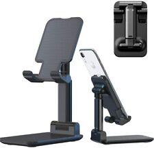 Adjustable Cell Phone Stand Holder Mount Desk iPhone Tablet Cradle Desktop Dock