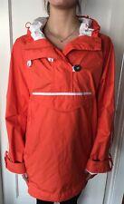 Lululemon Size M/L LLULU RIDE-ON-ANORAK Rain Jacket Hoodie Coat Reflect Orange