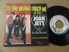 "DISQUE 45T DE  JOAN JETT & THE BLACKHEARTS  "" DO YOU WANNA TOUCH ME """