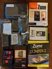 Microsoft Zune HD 64GB Black FM Radio Video WMA MP3 Media Player Sealed in Box!