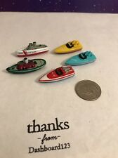 Micro Machines Lot Of 5 Boats Speed Tug V2
