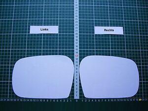 Außenspiegel Spiegelglas Ersatzglas Lada Niva ab 2010 Rechts sph konvex