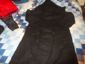 Australian MADE Down Under Duster Trench Coat Oilskin Jacket Double Shoulder XL