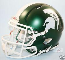 MICHIGAN STATE SPARTANS (SATIN GREEN) Riddell Speed Authentic Helmet