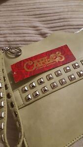 LADIES LARGE GENUINE  CLUTCH BAG BY CARLOS SANTANA BNWT  RRP £49