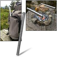 Portable Stainless Steel Outdoor Camping Tabletop Barbecue Grill Cooking Tool MP