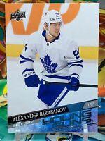 Alexander Barabanov 2020-21 Upper Deck S2 Young Guns