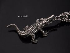 1bb55caa9b2 CROCODILE NECKLACE WITH CHAIN AND GIFTBOX - UNISEX