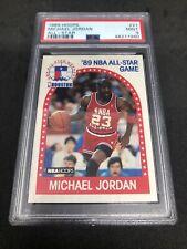 1989 HOOPS MICHAEL JORDAN ALL-STAR #21 PSA 9 MINT HOF BULLS