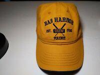 Bar Harbor Maine Est. 1796 Crew Embroidered  Baseball Cap Strapback Adj. Hat