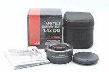 Excellen+++ SIGMA APO TELE CONVERTER 1.4x EX DG For Canon From Japan!! 98016