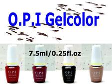 *NEW Size 7.5ml/0.25fl.oz OPI GELCOLOR UV/LED Soak-off *NEW Bottle *NEW Look