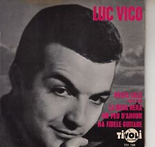 45TRS VINYL 7''/ FRENCH EP TIVOLI / LUC VICO / LITTLE MAN + 3 SONNY BONO